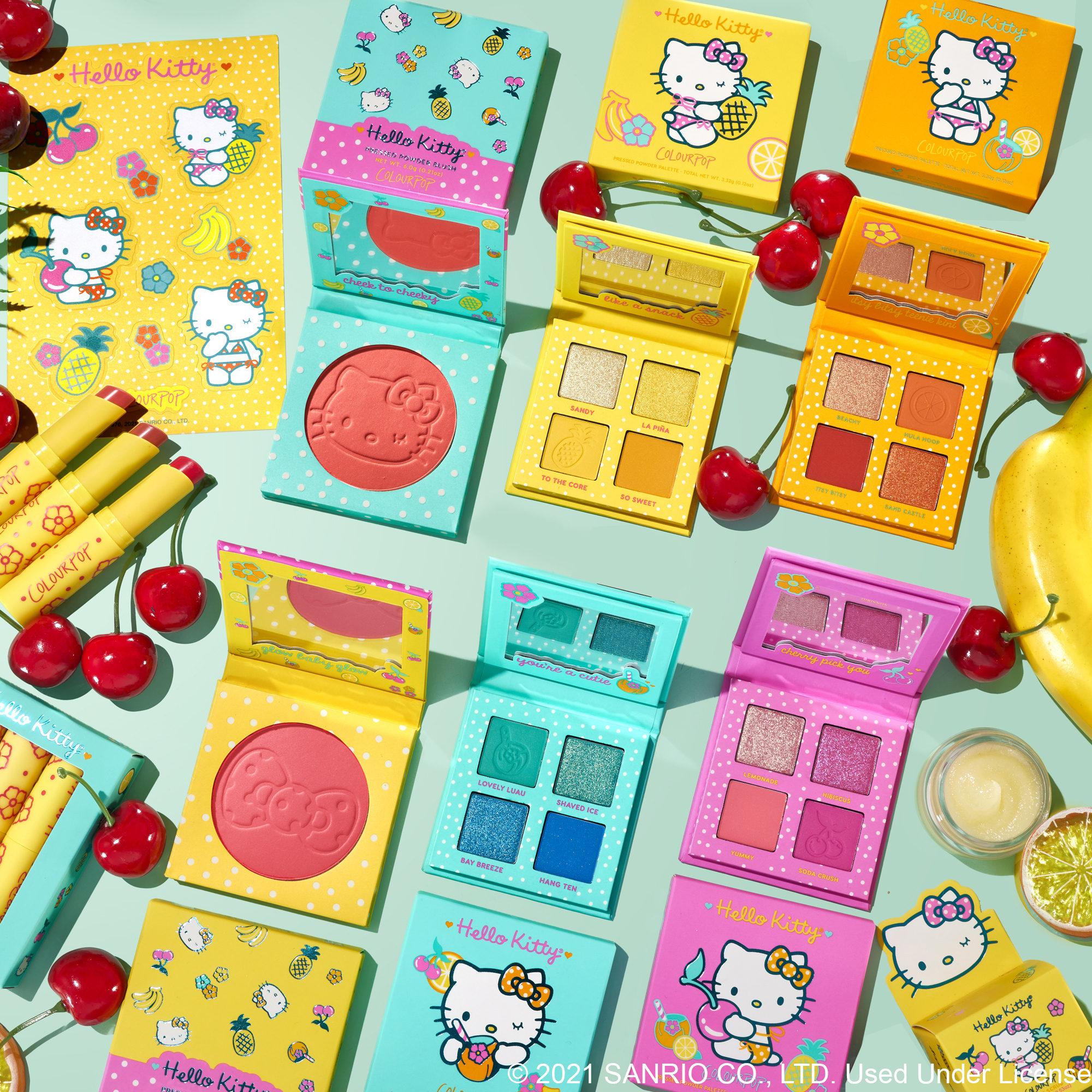 ColourPop x Hello Kitty Tropical Escape Summer Collection