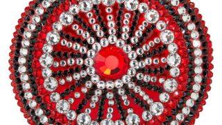Estee Lauder Saks Fifth Avenue Collectible Perfecting Powder Crystal Compact