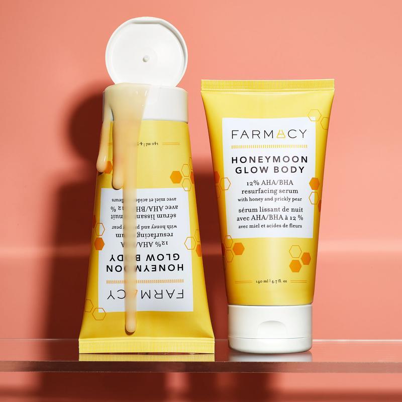 Farmacy Honeymoon Glow Body Resurfacing Serum