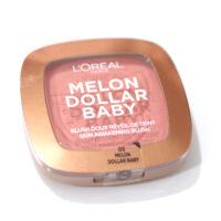 L'Oreal Melon Dollar Baby Skin Awakening Blush Review / Swatches