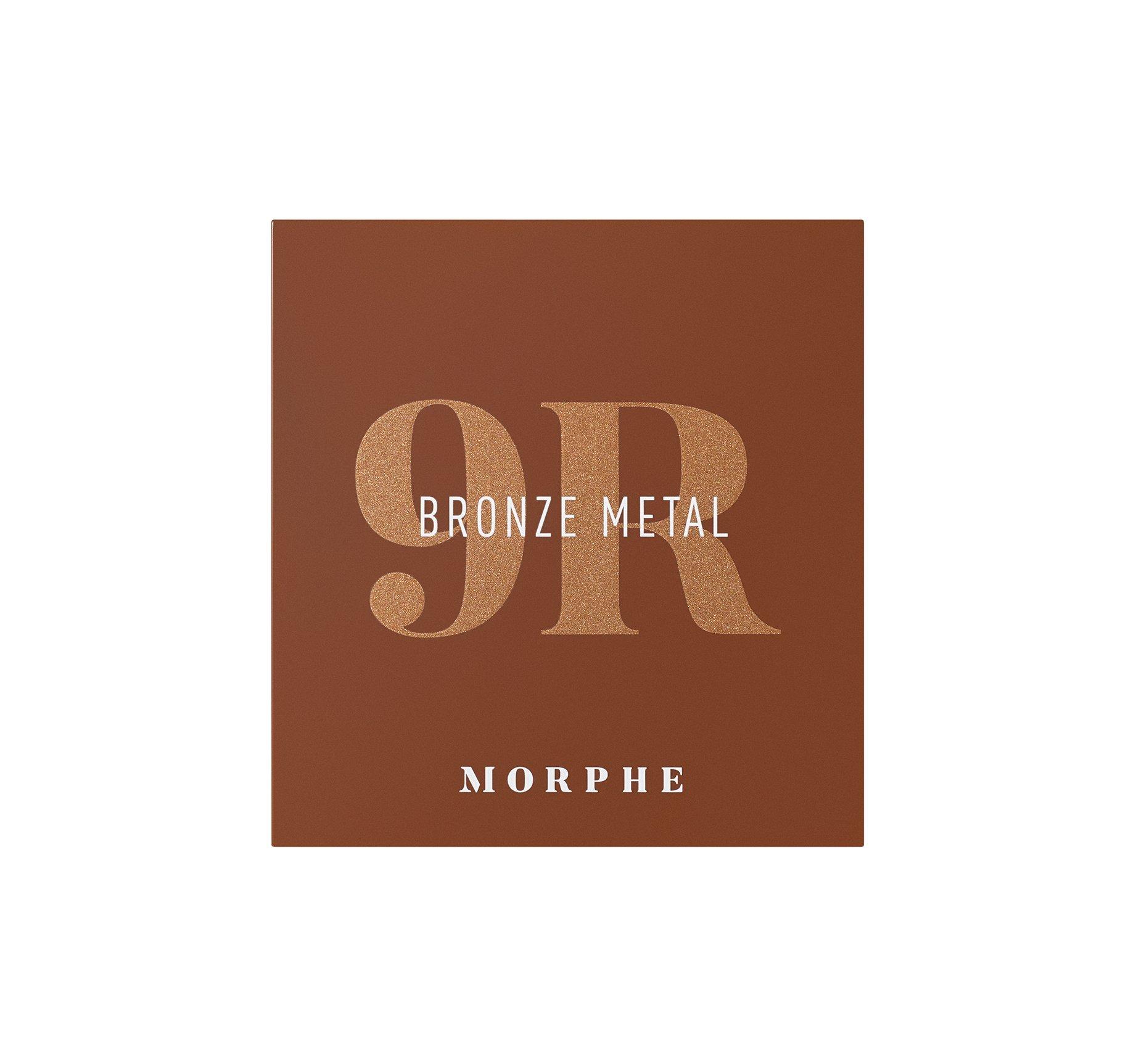 Morphe 9R Bronze Metal Artistry Palette