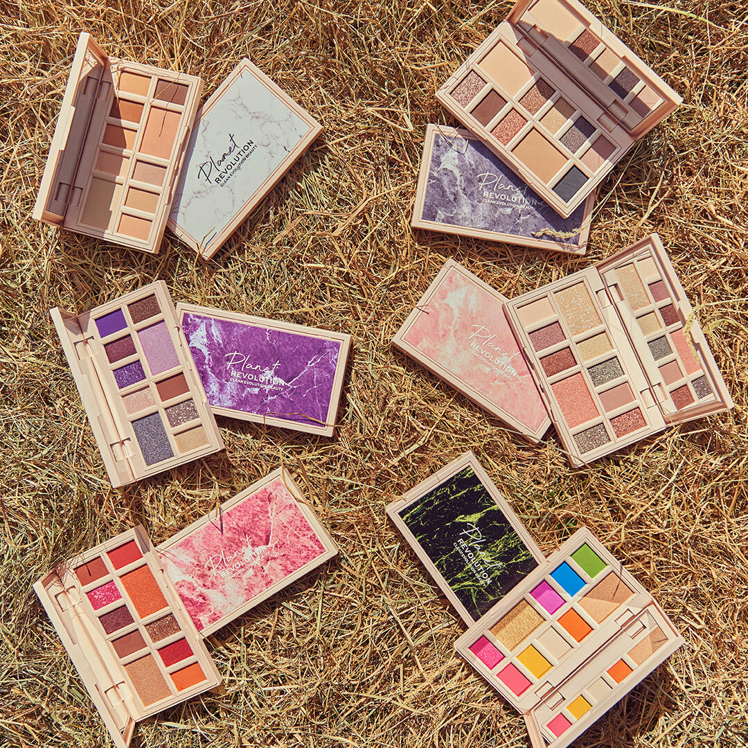 Planet Revolution Revolutionary Marble Eyeshadow Palette Collection