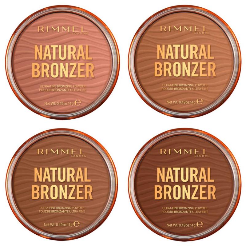 Rimmel Natural Bronzer Ultra Fine Bronzing Powders