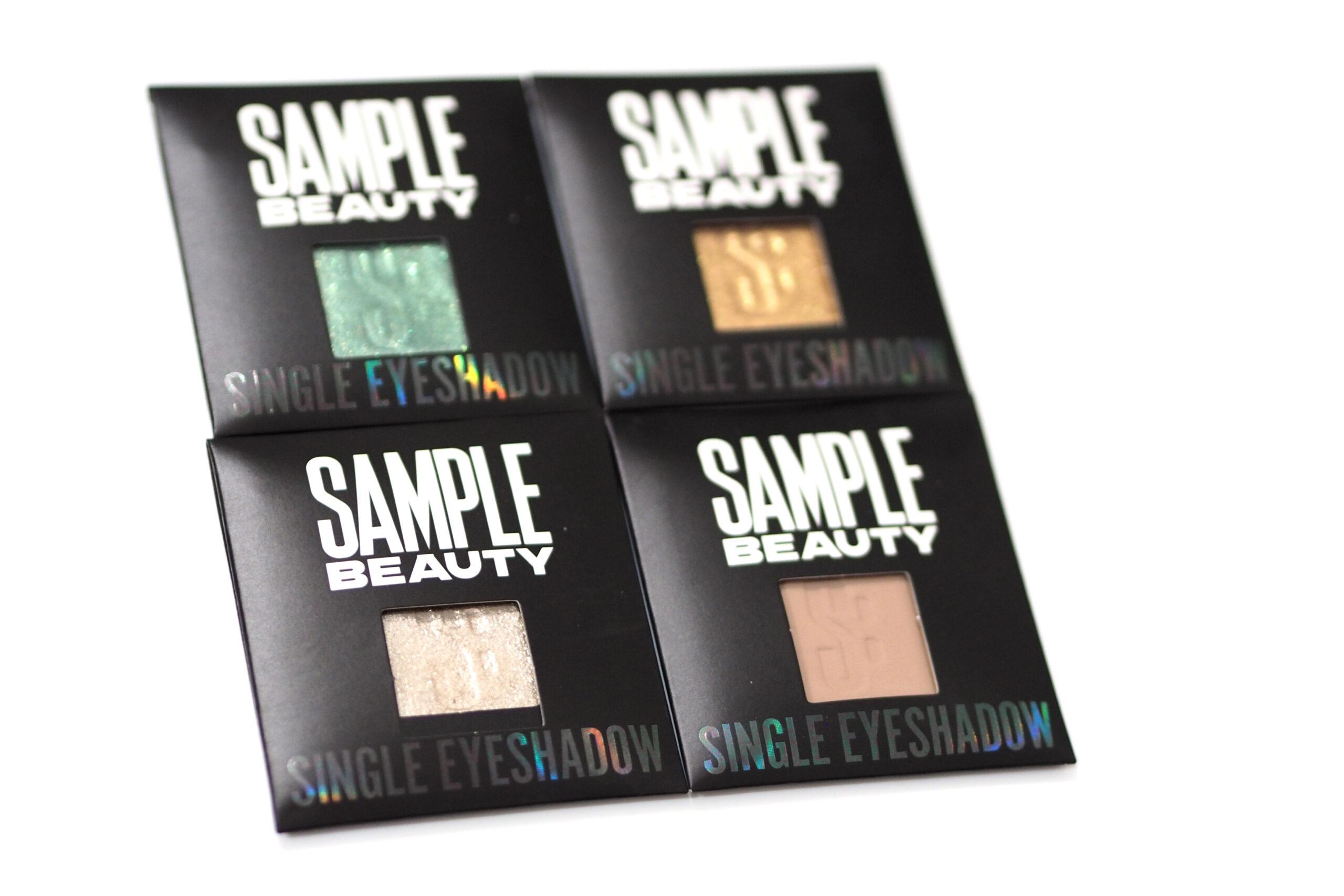 Sample Beauty Single Eyeshadow Collection