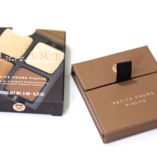 Viseart Petits Fours Praline Eyeshadow Palette Review / Swatches
