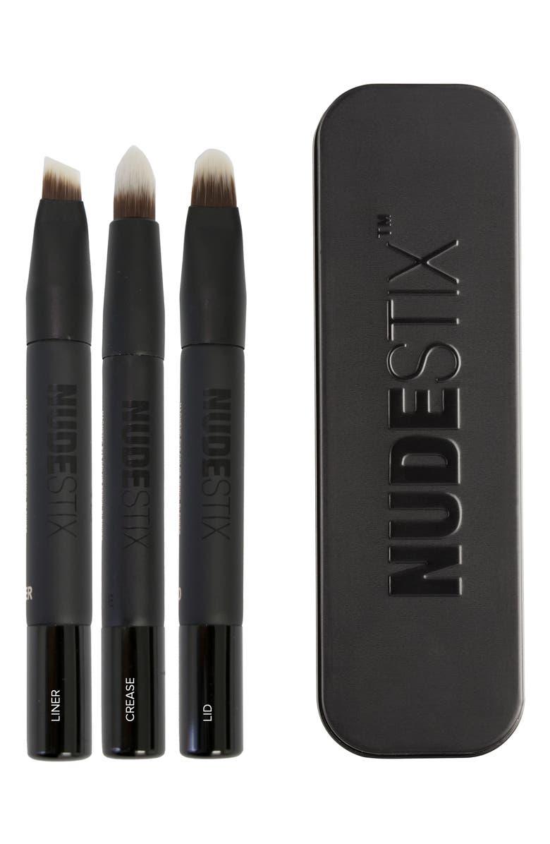 Nudestix Magnetic Eye Color Pencil Blender Brush Set