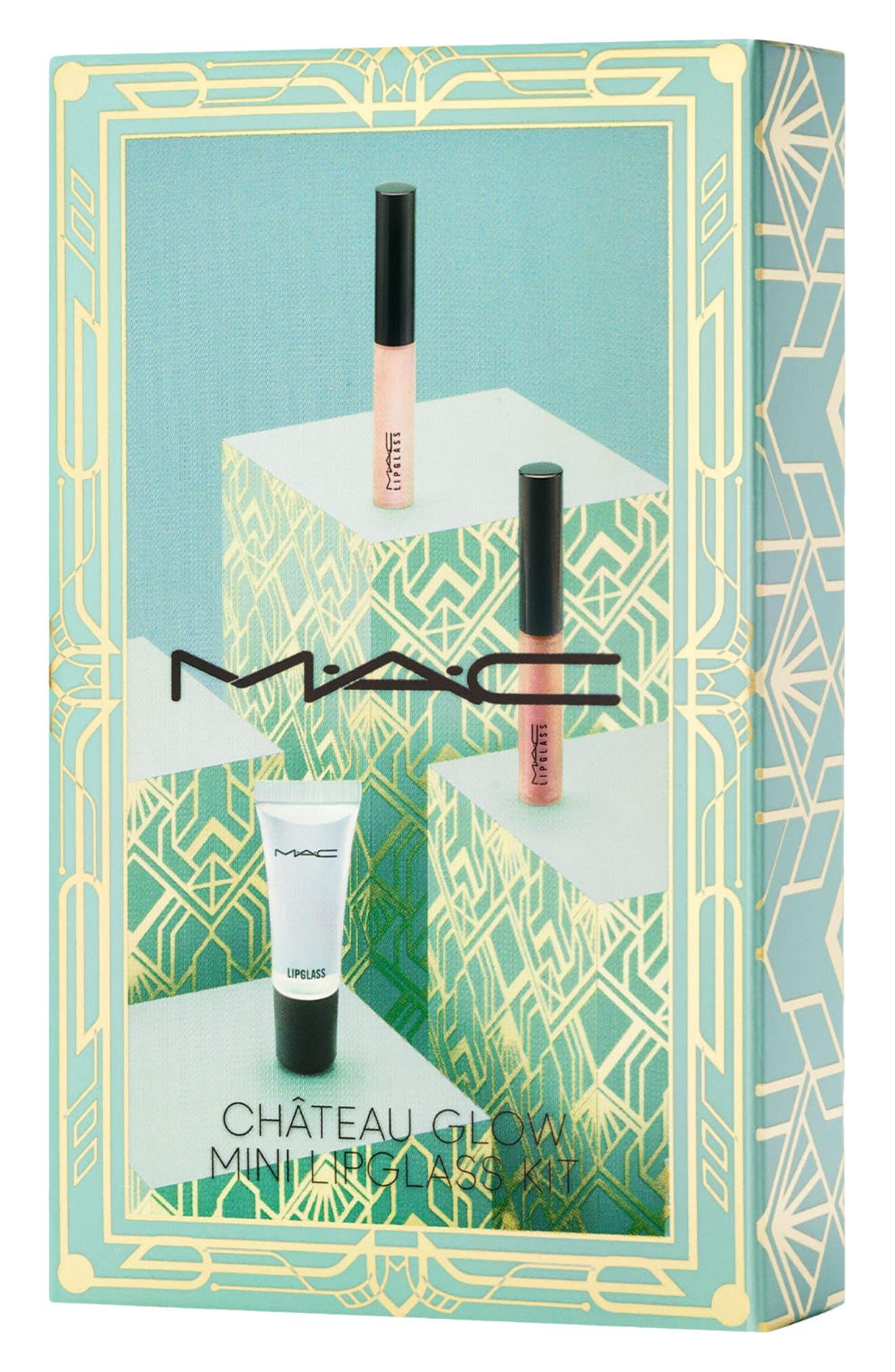 MAC Château Glow Mini Lipglass Kit