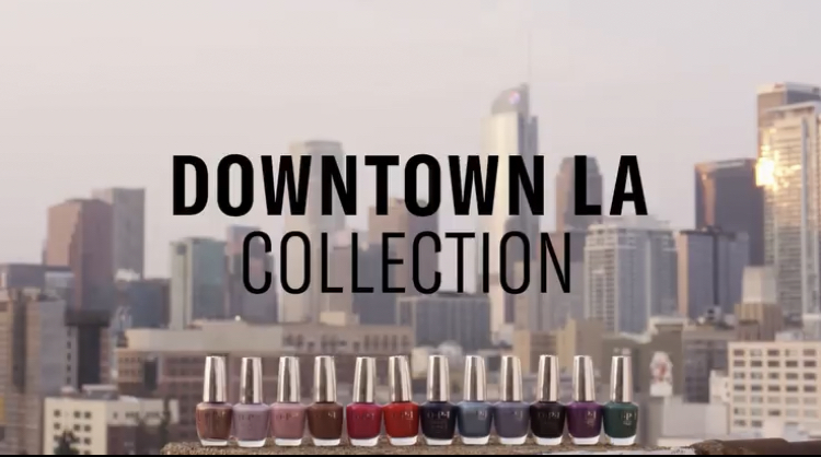 OPI Downtown LA Fall 2021 Nail Polish Collection