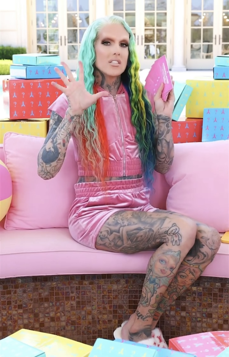 Jeffree Star Cosmetics Summer Mystery Boxes