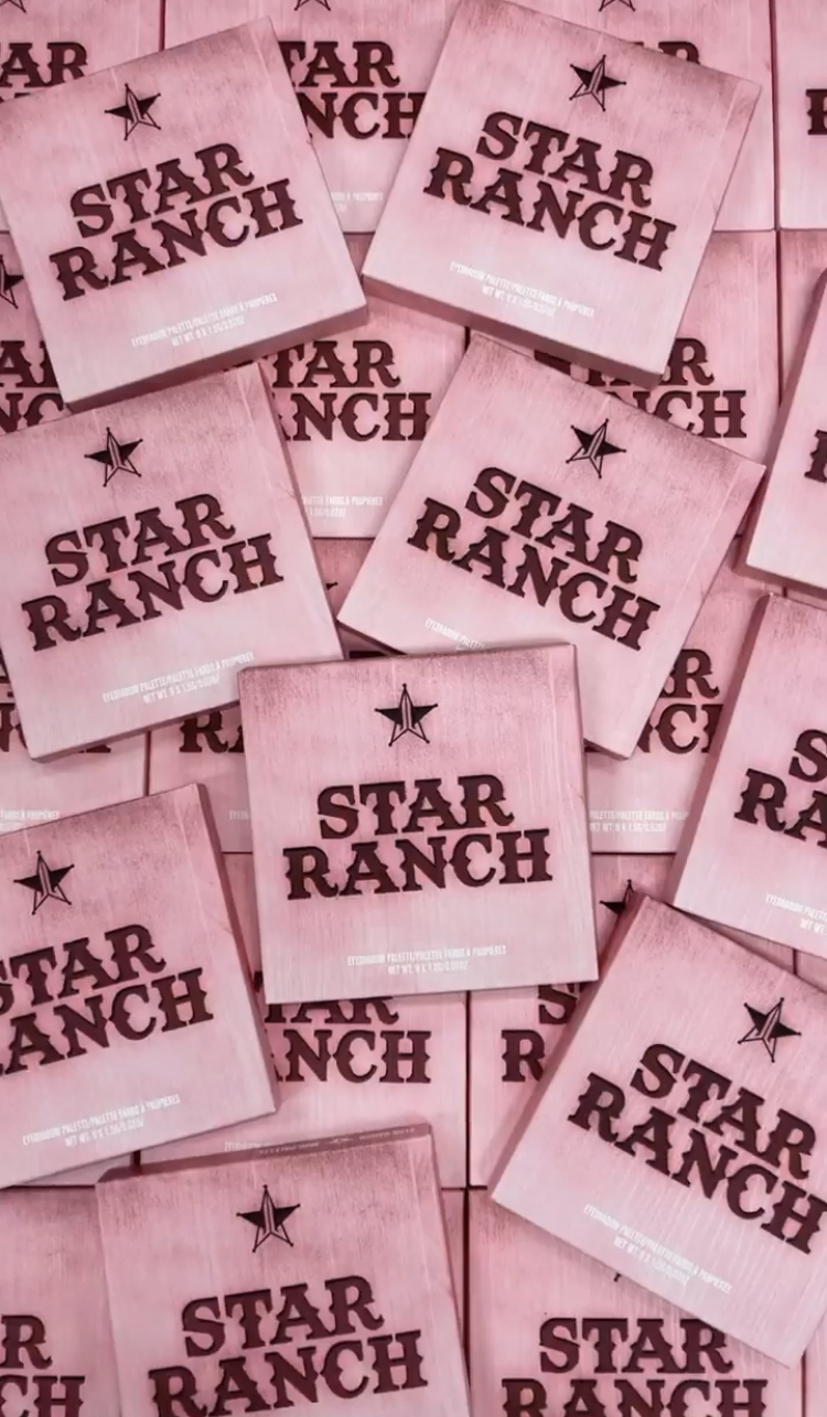 Jeffree Star Cosmetics Star Ranch Eyeshadow Palette