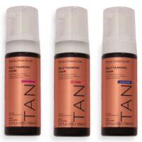 Revolution Glow Self Tanning Foam Collection