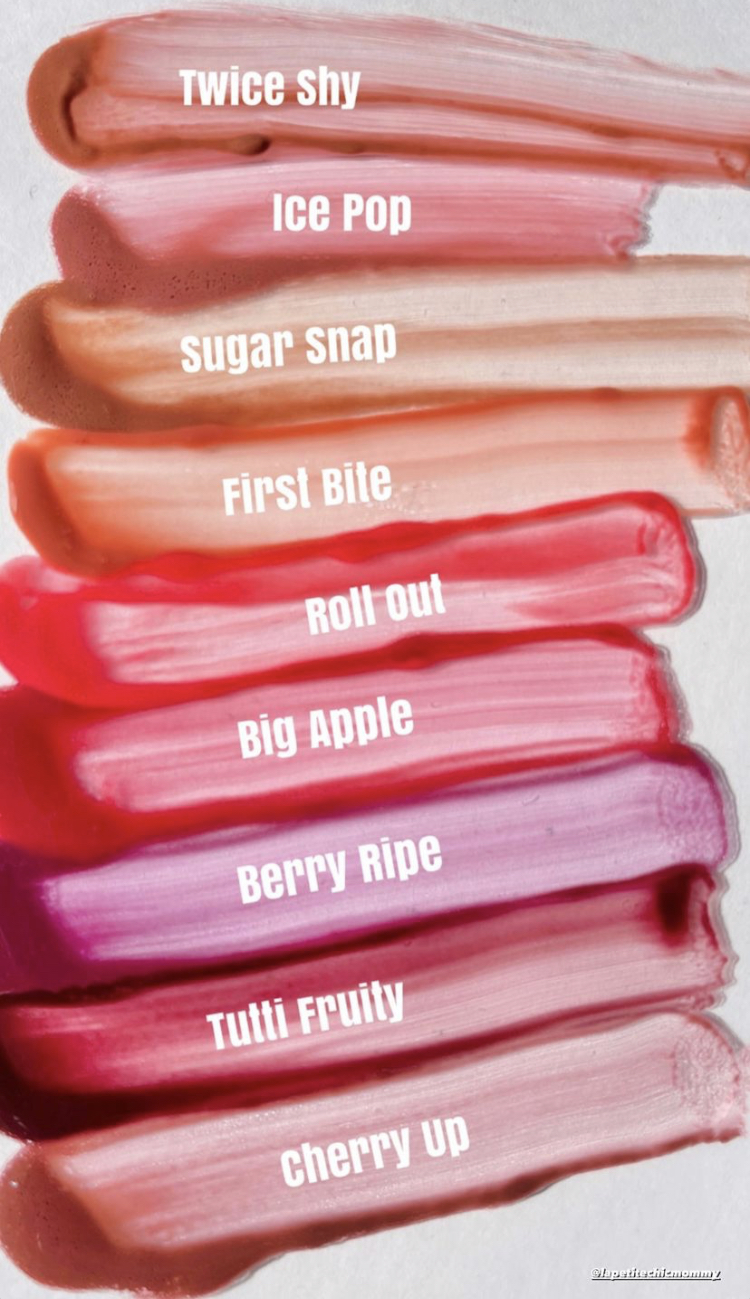 ColourPop Fresh Kiss Glossy Lip Stain Collection