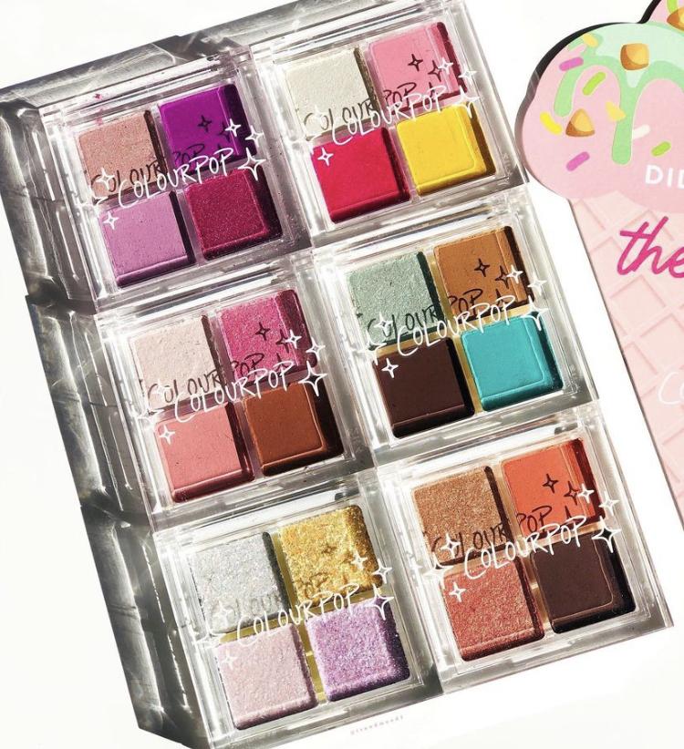 ColourPop Ice Cream Bites Eyeshadow Palette Collection