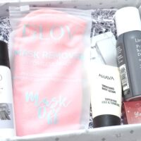 Instead of giving the box a theme, like other months, they've teamed up with popular fashion influencer Rosie Connolly, for a collaborative box. Plus, this month's Lookfantastic Magazine has gone digital, with boxes featuring a QR code, allowing you to find out all about the products within the box.