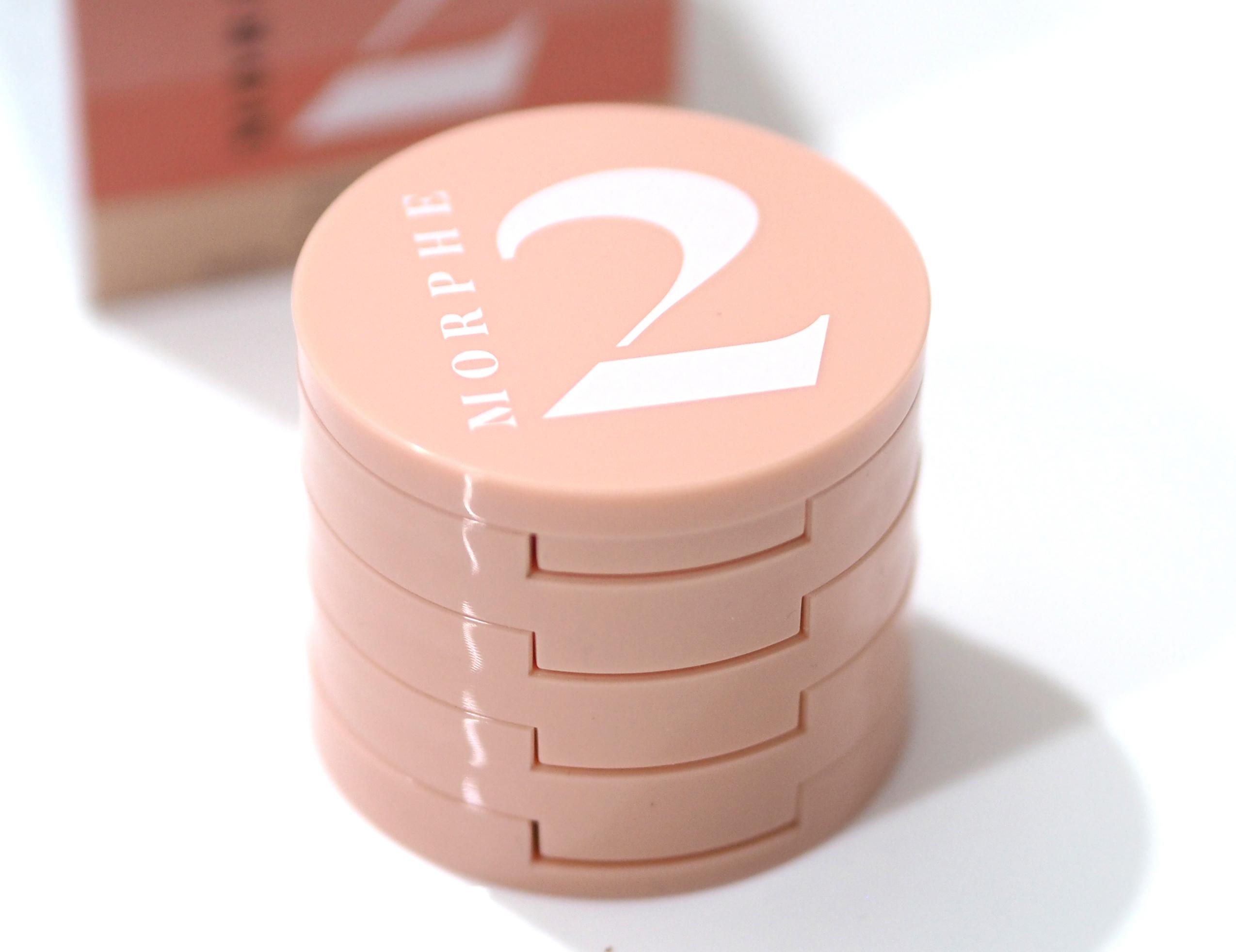 Morphe 2 Fresh Peach Quad Goals Multi-Palette Review Swatches
