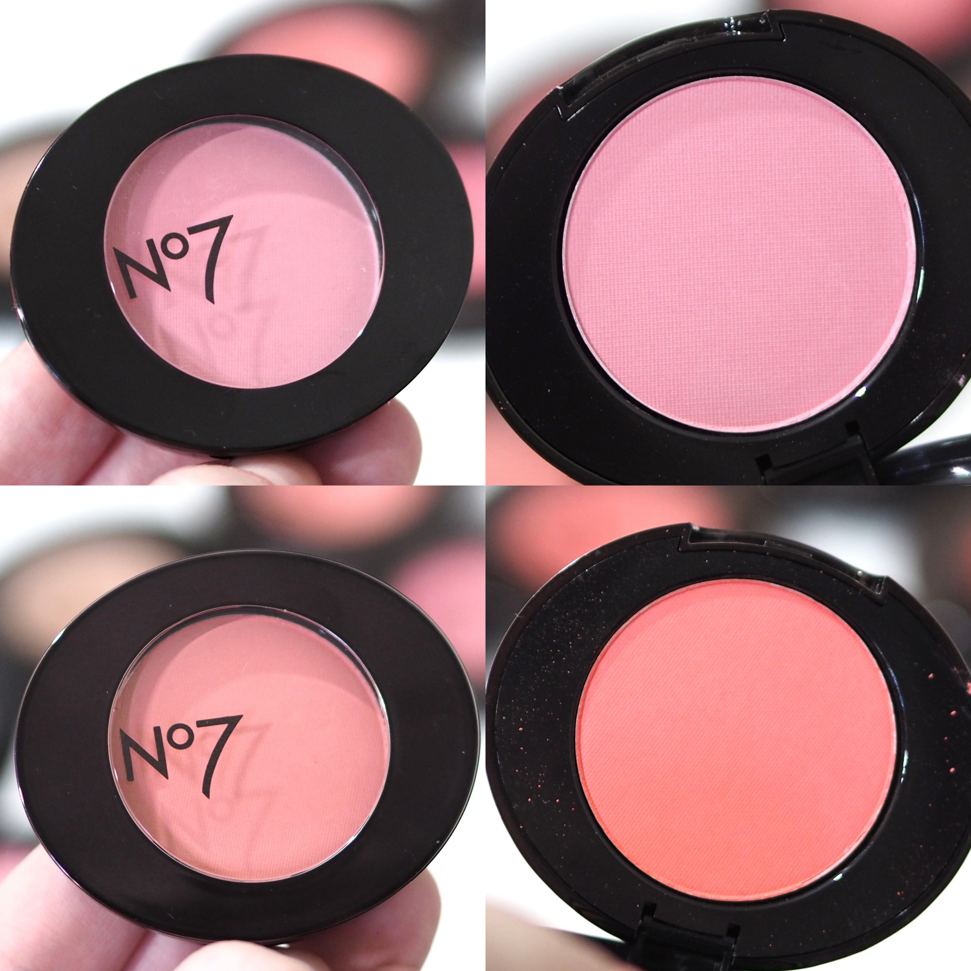 No7 Match Made Powder Blusher Collection Review Swatches