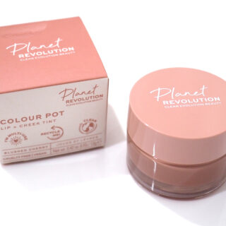 Planet Revolution Colour Pot Lip & Cheek Tint Review Swatches