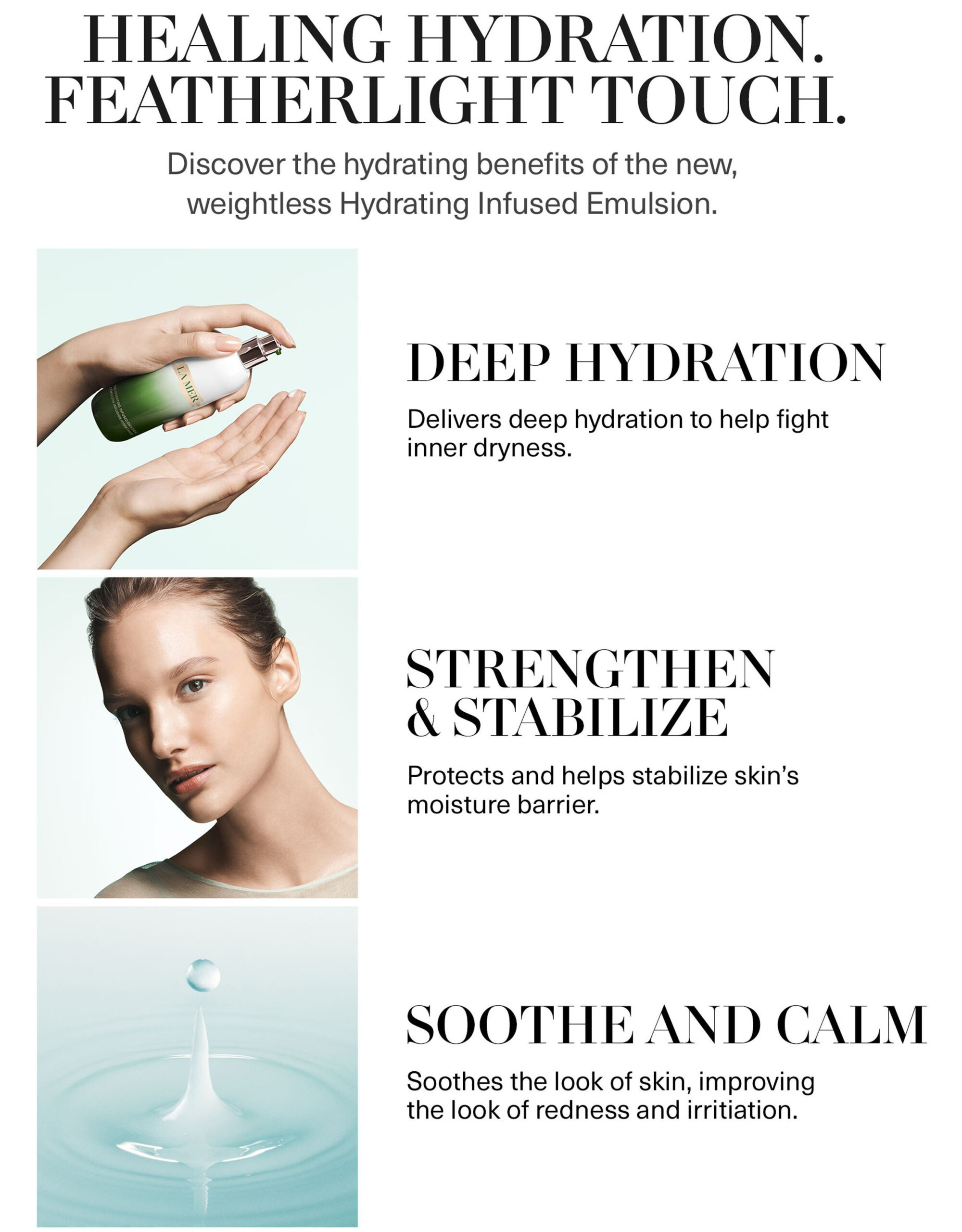 La Mer The Hydrating Infused Emulsion