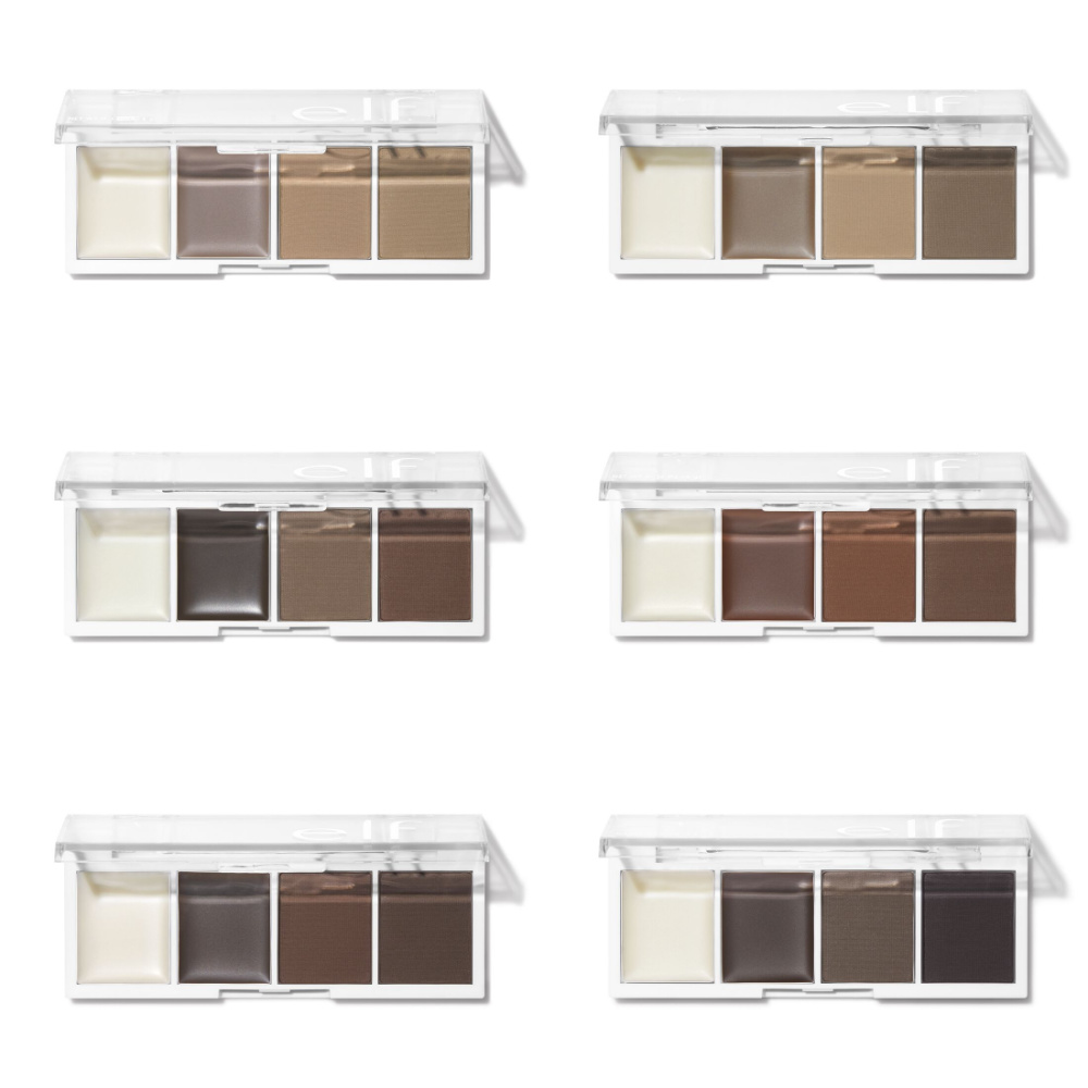 ELF Bite Size Brow Palette Collection