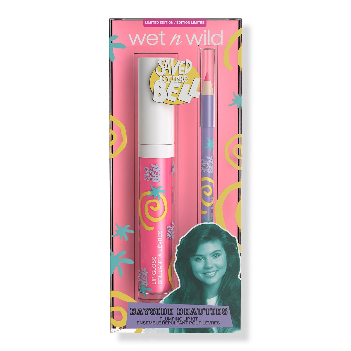 Wet n Wild x Saved By The Bell Lip Kits