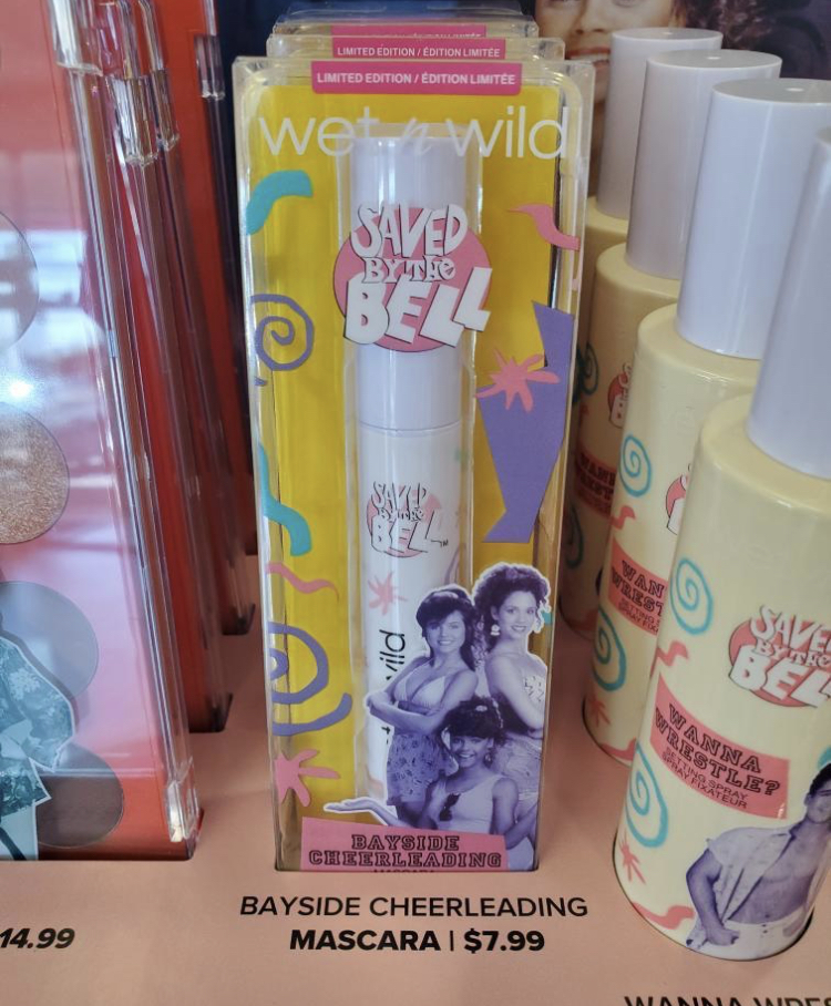 Wet n Wild x Saved By The Bell Collaboration
