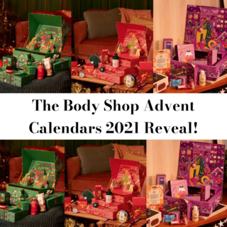 The Body Shop Beauty Advent Calendars x 3 for 2021 Exclusive Reveal