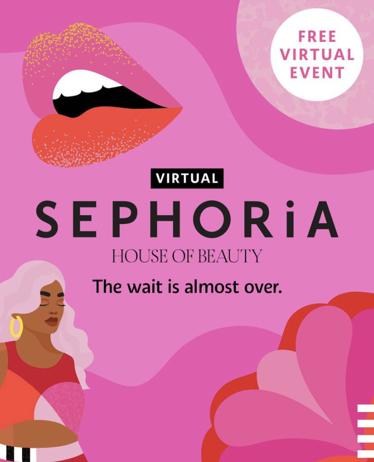 Sephora's Sephoria Virtual Event 2021