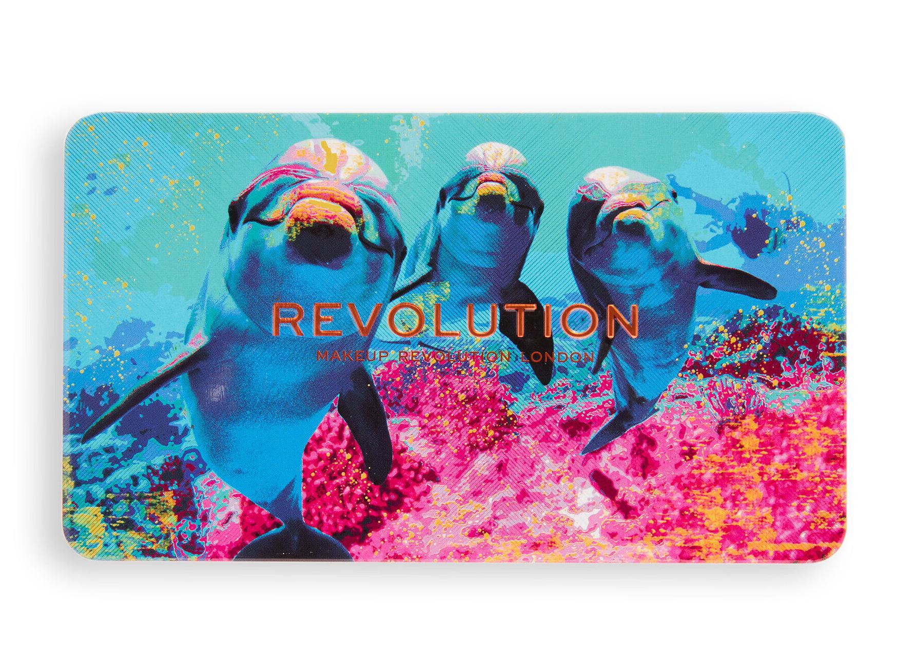Revolution Hydra Dolphin Forever Flawless Eyeshadow Palette