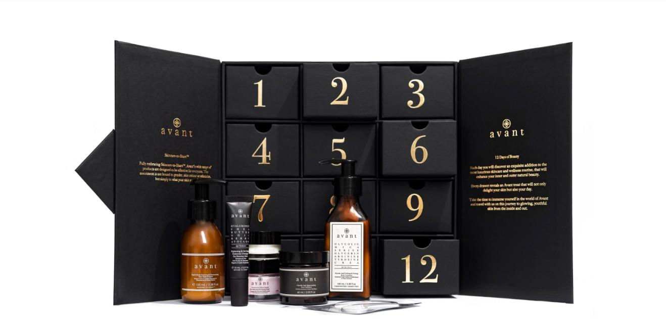 Avant Skincare 12 Days of Beauty Advent Calendar 2021