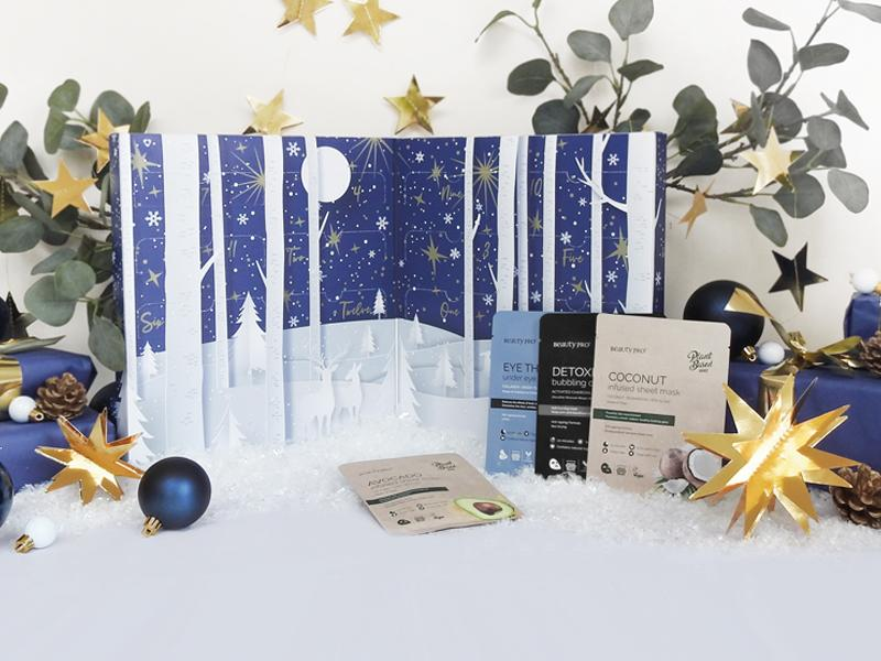 BeautyPro 12 Days of Christmask Beauty Advent Calendar 2021