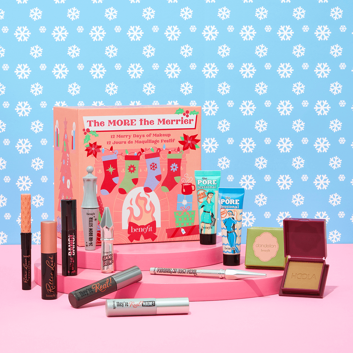 Benefit The More The Merrier Beauty Advent Calendar 2021 Contents Reveal!
