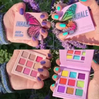 Makeup Obsession Inhale Exhale Butterfly Palettes
