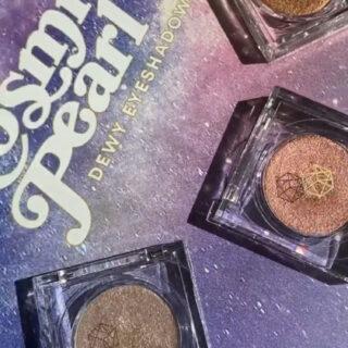 EM Cosmetics Cosmic Pearl Dewy Eyeshadows