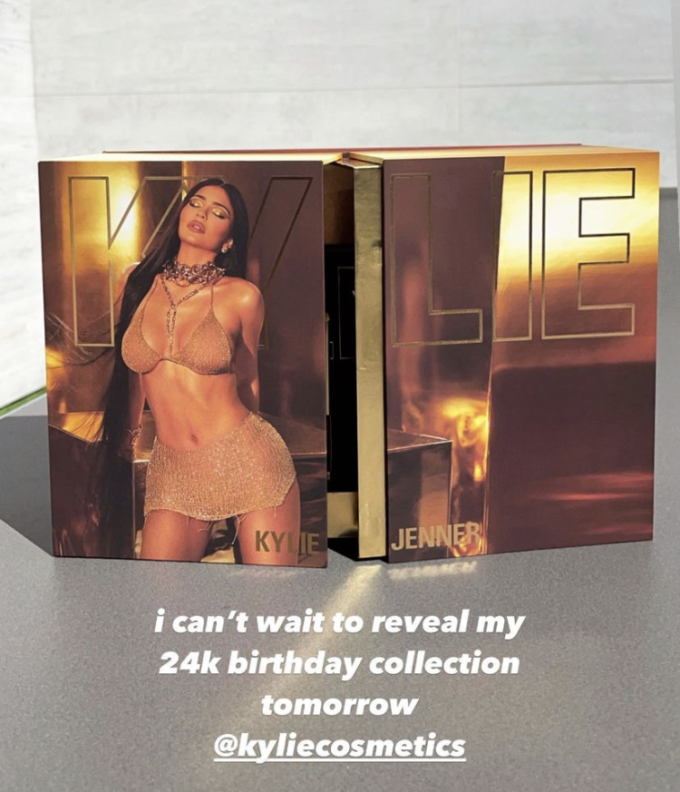 Kylie Cosmetics 24k Gold Birthday Collection