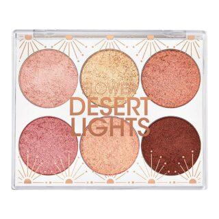 Flower Beauty Desert Lights Shadow Palette