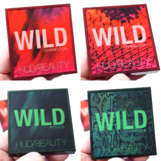 Huda Beauty Wild Obsessions Palette Collection Review / Swatches