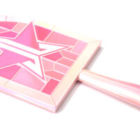 Jeffree Star Pink Religion Stained Glass Hand Mirror