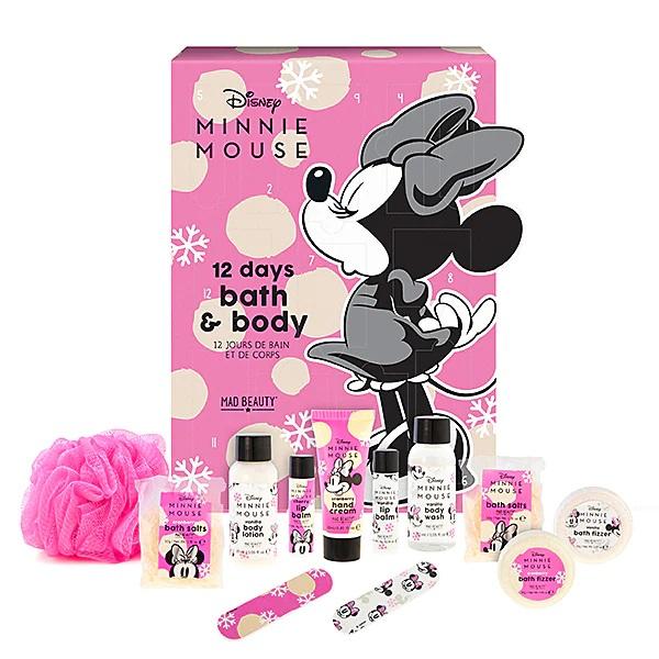 Mad Beauty Disney Minnie Mouse 12 Days Bath & Body Advent Calendar 2021