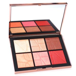 NARS Orgasm On The Beach Cheek Palette Review Swatches