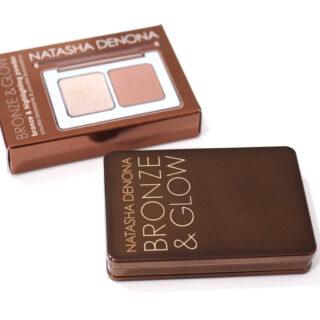 Natasha Denona Mini Bronze & Glow Duo Review Swatches