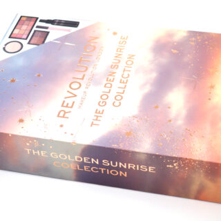 Revolution The Golden Sunrise Collection Gift Set Review / Swatches