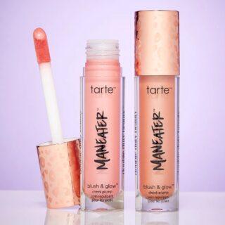Tarte Maneater Blush & Glow Cheek Plump Liquid Blushers