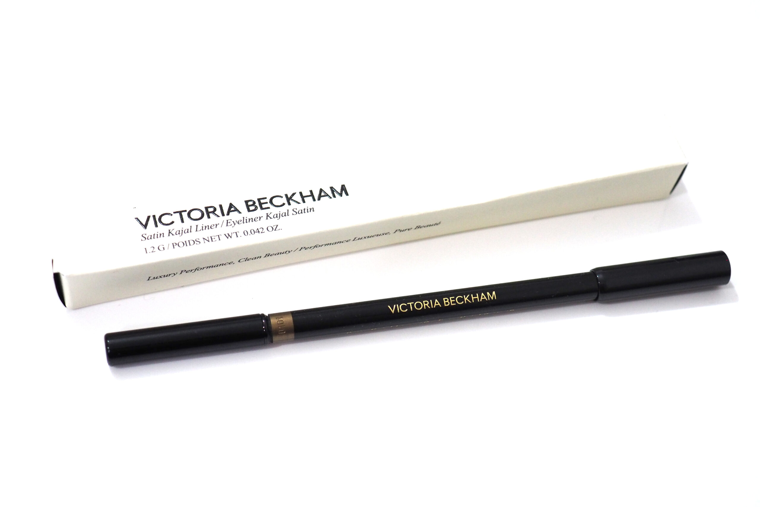 Victoria Beckham Beauty Satin Kajal Liner Review and Swatches