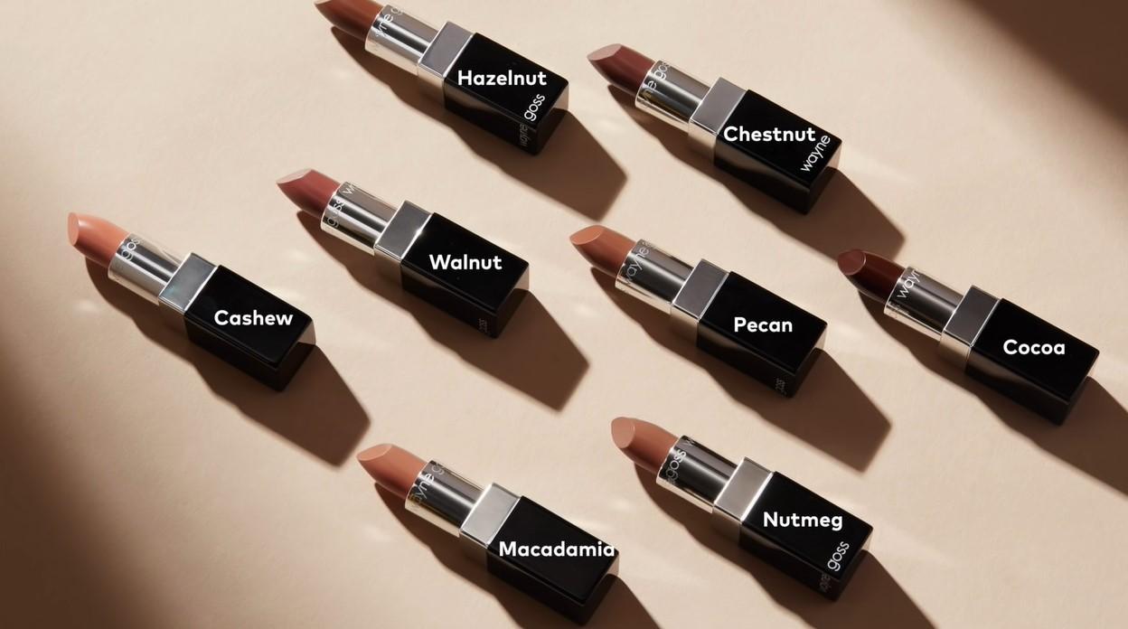 Wayne Goss Cosmetics The Luxury Nude Lipsticks Collection