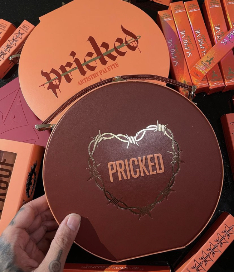 Jeffree Star Pricked Artistry Palette Collection Reveal!