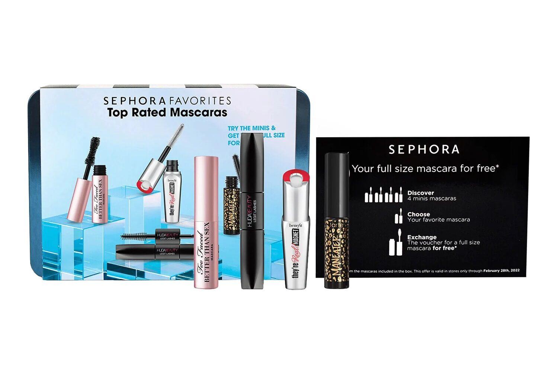 Sephora Favorites Top Rated Mascaras Set