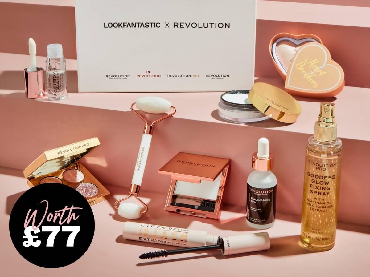 Lookfantastic x Revolution Beauty Box 2021 Contents Reveal!