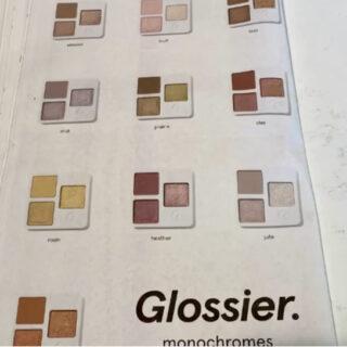 Glossier Monochromes Eyeshadow Palettes
