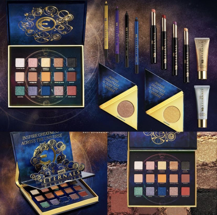 Urban Decay x Marvel Eternals Collaboration Reveal!