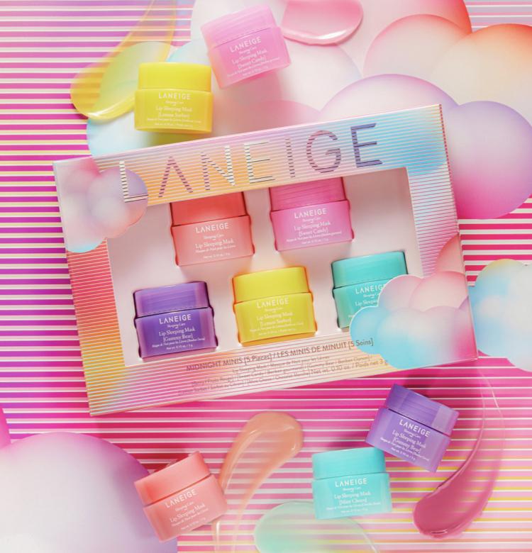 Laneige Midnight Minis Lip Sleeping Mask Set